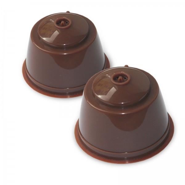 2x Dolce Gusto Coffee Kapsel, wiederverwendbar