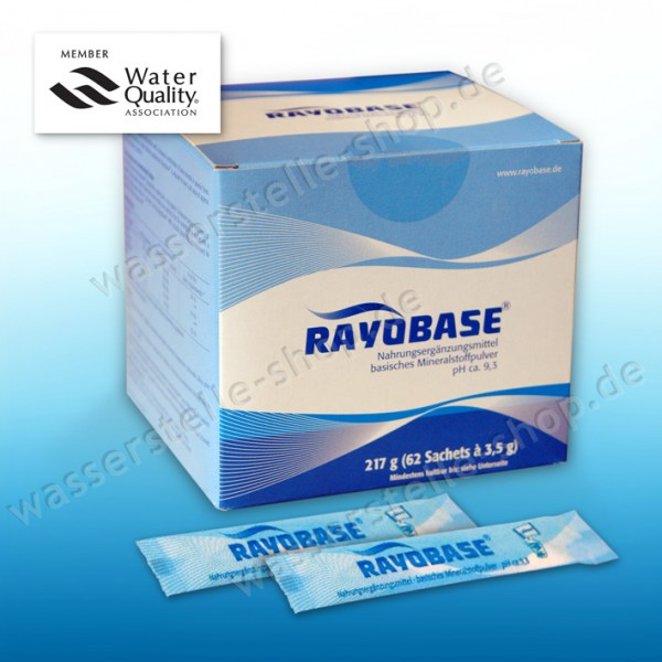 Rayobase ® powder 217 g, 62 Sachets with 3.5 g