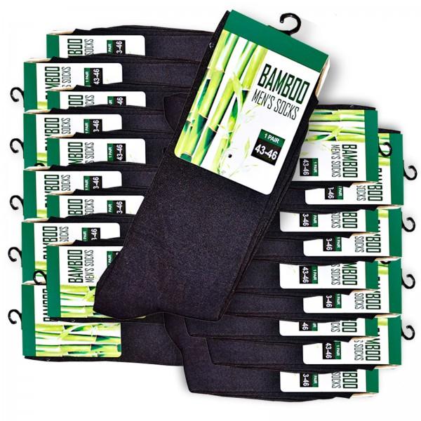20 Paar Premium Bambus Socken (200 needles) 2,10 EUR/Paar