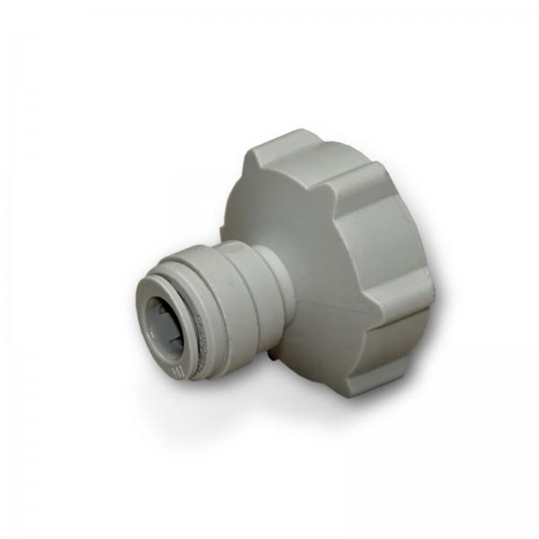 Adapter Anschluss 1/2 Zoll IG für Kühlschrank Schlauch 1/4 Zoll