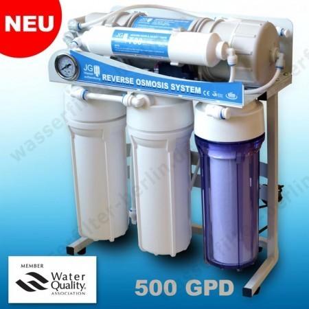 Neuheit: Direct Flow Umkehrosmose-Anlage Wasserstelle 500 GPD