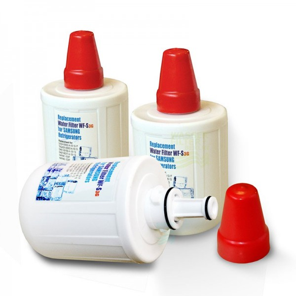 3x Wasserfilter WF-S, komp. mit DA29-00003G, F, Kühlschrankfilter 3G1