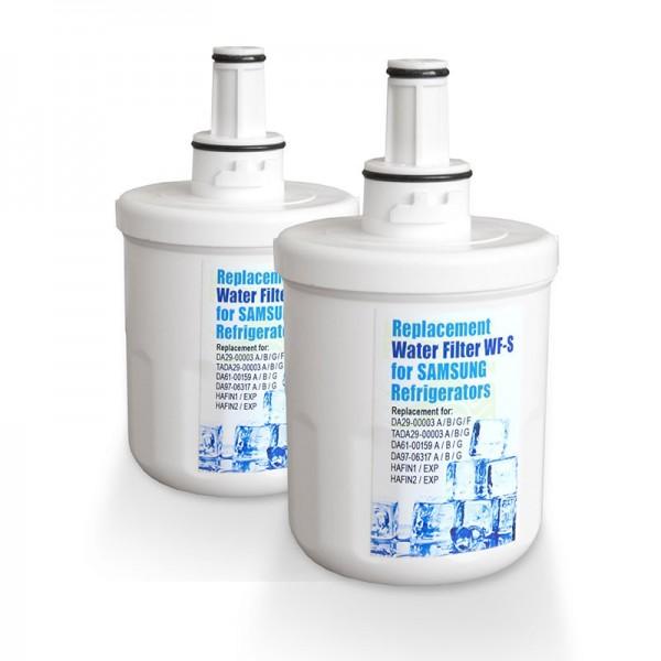 2x WF-S 3B Kühlschrankfilter, kompatibel mit DA29-00003B, A