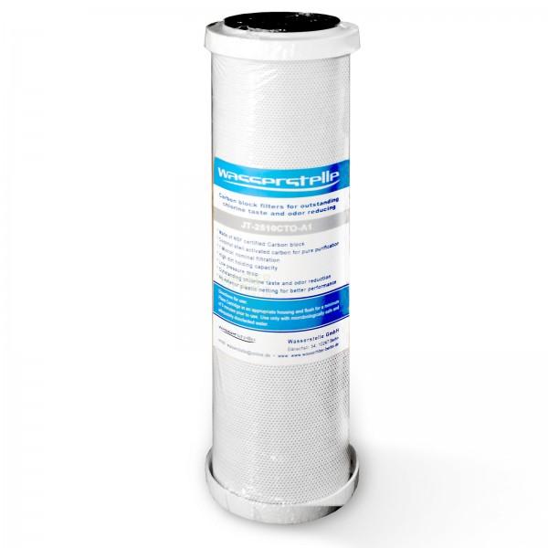 """MFP CTO-Aktivkohleblock 1µm, Wasserstelle , 10""""x2,5"""""""