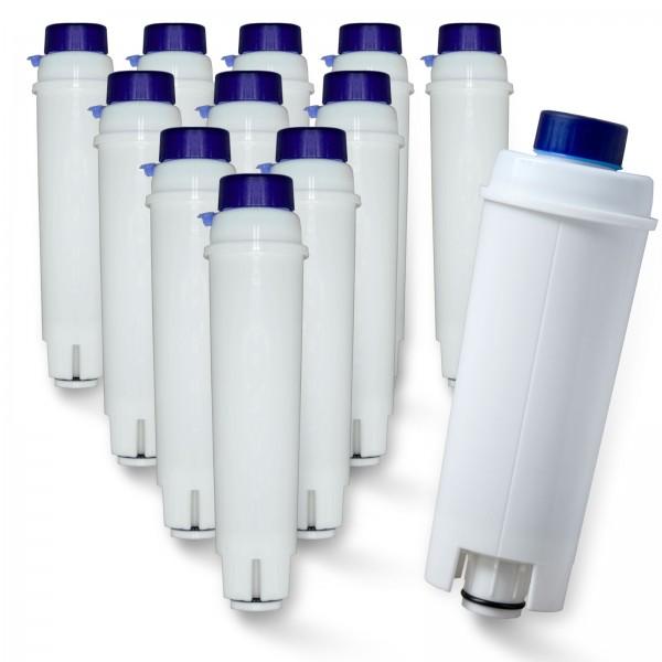 12x DeLonghi DLS C002 SER3017 5513292811 kompatibel, Delfin-Filter