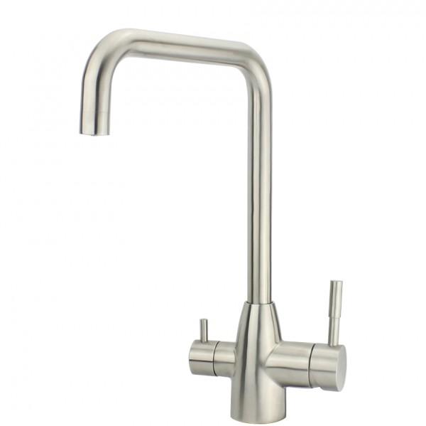 Edelstahl Design-Drei-Wege-Wasserhahn Delta