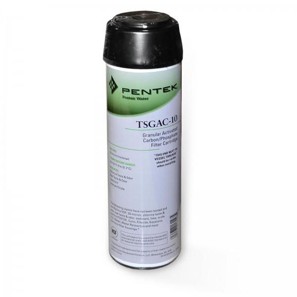 Pentek TSGAC-10, Aktivkohlegranulatpatrone mit Kalkschutz