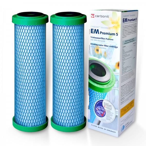 2 Stück EM Premium 5 Carbonit