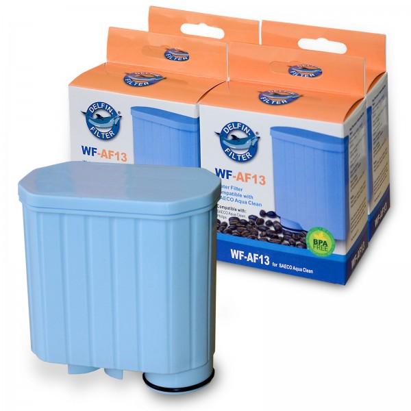 4x Wasserfilter kompatibel mit AquaClean CA6903 SAECO Delfin WF-AF13