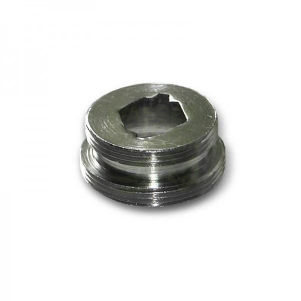 Adapter für Hähne mit Innengewinde M22x1 AG x M24x1 AG