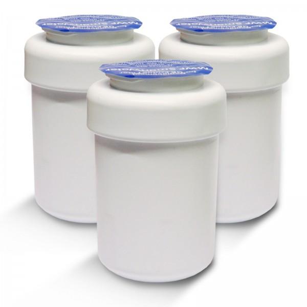 3x GE MWF Smartwater kompatible Kühlschrankfilter, Wasserfilter WF-G